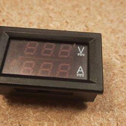 Измерительное оборудование - Измерительная панель вольтметр амперметр 0-100в 0-1а Новые., 0