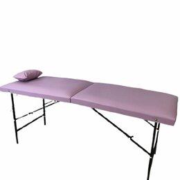 Диваны и кушетки - Кушетка для наращивания ресниц фиолетовая, 0
