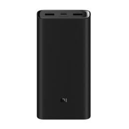 Универсальные внешние аккумуляторы - Xiaomi Аккумулятор Xiaomi Mi Power Bank 3 Pro 20000 (PLM07ZM) черный, 0