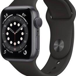 Умные часы и браслеты - Умные часы Apple Watch Series 6, 44mm, серый, 0
