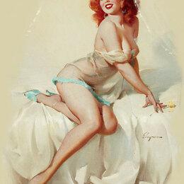 Прочие комплектующие - Девушка в постели Артикул : G 012, 0