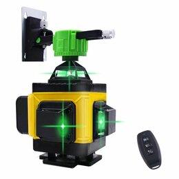 Измерительные инструменты и приборы - Pracmanu 4d зеленый лазерный нивелир, 0