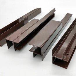 Заборчики, сетки и бордюрные ленты - Угловой элемент металлический для досок грядок из ДПК 225мм, 0