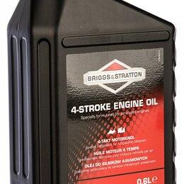 Масла для садовой техники - Масло полусинтетическое 4-х тактное SAE-30 Briggs&Stratton (0,6 л), 0