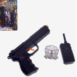 Полицейские и шпионы - Набор полицейского с пистолетом-трещеткой СМ-6883569, 0
