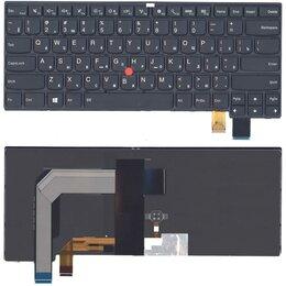 Клавиатуры - Клавиатура для Lenovo Thinkpad T460P черная с подсветкой, 0