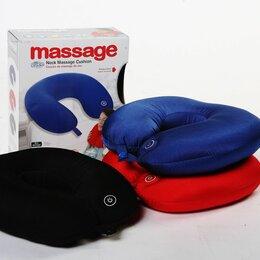 Массажные матрасы и подушки - Подушка-подголовник массажная neck massage cushion, 0