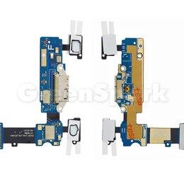 Прочие запасные части - Шлейф для Samsung G900 Galaxy S5 + системный разъем + сенсор + микрофон, 0