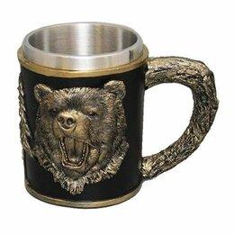 """Кружки, блюдца и пары - Кружка """"Медведь"""" 15*10*12 см , 500мл., 0"""