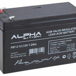 Аккумуляторные батареи - Аккумуляторная батарея 12 В 7 А/ч, 0