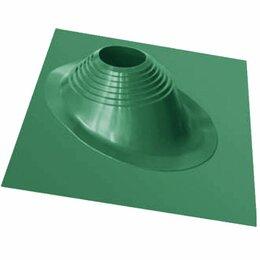 Дымоходы - Дымоход Проходник д/крыш угловой №2 окраш.зеленый (силикон) 200-280мм, 0
