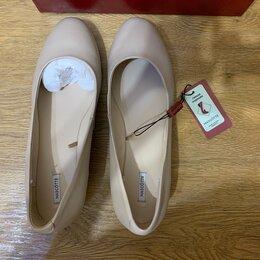 Туфли - Белые балетки лодочки Mascotte, 0