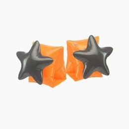 Аксессуары для плавания - Нарукавники для плавания Happy Baby orange&black арт.121014, 0