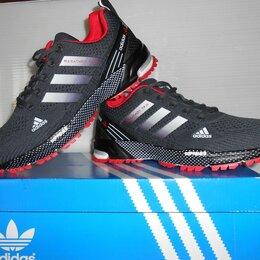 Кроссовки и кеды - Кроссовки Adidas marathon TR-26 40-46 серые, 0