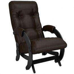 Кресла - Кресло-глайдер мягкое шоколад 68 Oregon…, 0