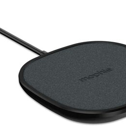Защитные пленки и стекла - Беспроводное зарядное устройство Mophie Universal Wireless Charging Pad черный, 0
