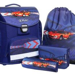 Рюкзаки, ранцы, сумки - HERLITZ Ранец для мальчика HERLITZ MIDI PLUS FIRE ENGINE 38*37*22см, 0