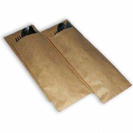 Пакеты - Пакет бумажный под приборы, 220х70 мм, крафт, 70 гр., 0
