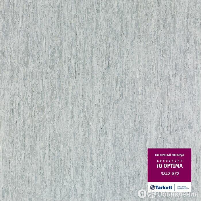 Коммерческий гомогенный линолеум Tarkett iQ Optima 3242 872 по цене 1470₽ - Готовые строения, фото 0