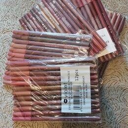 Для губ - Лот #10. Пакет косметики, 4 новых упаковки карандашей для губ, 0