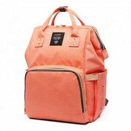 Рюкзаки и сумки-кенгуру - Вместительная, Удобная Сумка-рюкзак для мамы Baby Mo с USB, персиковый, 0