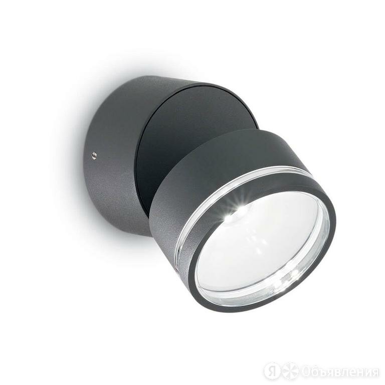 Уличный светильник Ideal Lux Omega AP Round Antracite 3000K 247076 по цене 8910₽ - Уличное освещение, фото 0