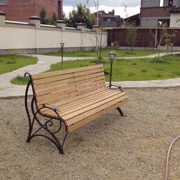 Скамейки - Кованная скамейка , 0