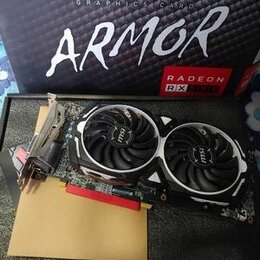 Видеокарты - Видеокарта MSI AMD Radeon RX 580 8G OC, 0