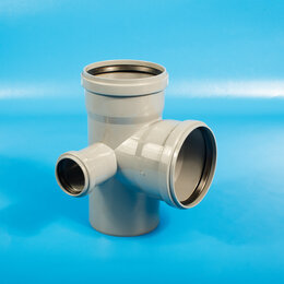 Канализационные трубы и фитинги - Крестовины AquaLine Крестовина канализационная внутренняя  AquaLine Ду-110х11..., 0