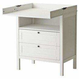 Пеленальные столики и доски - Сундвик пеленальный стол/комод высота, 0