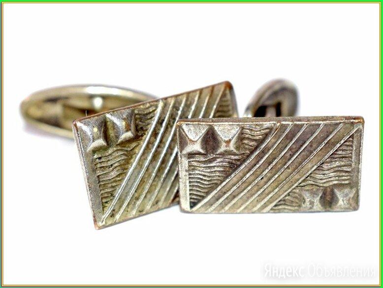 ЗАПОНКИ ВИНТАЖНЫЕ :: никель серебрение 6,7гр СССР по цене 1200₽ - Запонки и зажимы, фото 0