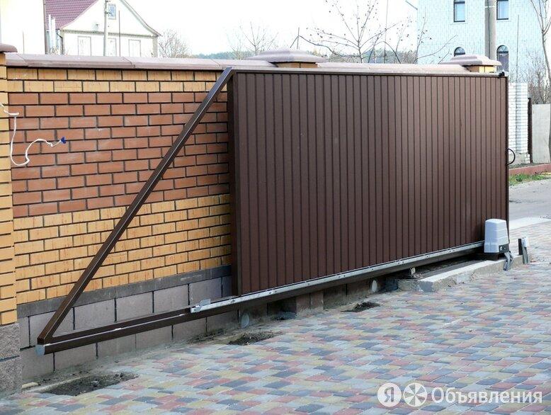 Откатные ворота по цене 47000₽ - Заборы, ворота и элементы, фото 0