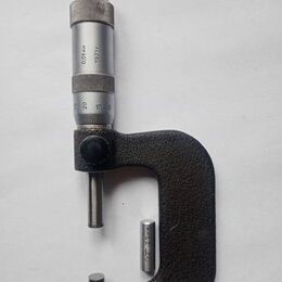 Измерительные инструменты и приборы - Микрометр, 0