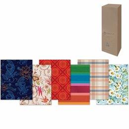 Подарочная упаковка - Бумага упаковочная подарочная, в рулонах, глянцевая, 2 листа, 0,7х1 м, рисунок а, 0