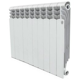 Радиаторы - Радиатор отопления алюминиевый 500х80  6 секций Revolution Royal Thermo RTR50006, 0