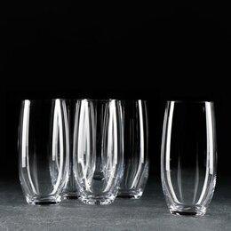 Одноразовая посуда - Набор стаканов для воды Mergus, 470 мл, 6 шт, 0