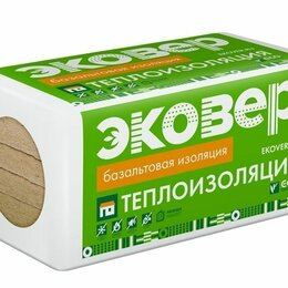 Изоляционные материалы - Эковер Акустик утеплитель 50 1000x600x50 мм, 0