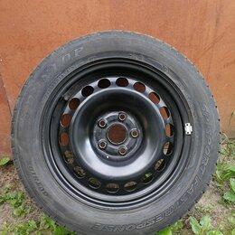 Шины, диски и комплектующие - Колесо VW Passat 3c0601027 215/55 r16 Dunlop, 0