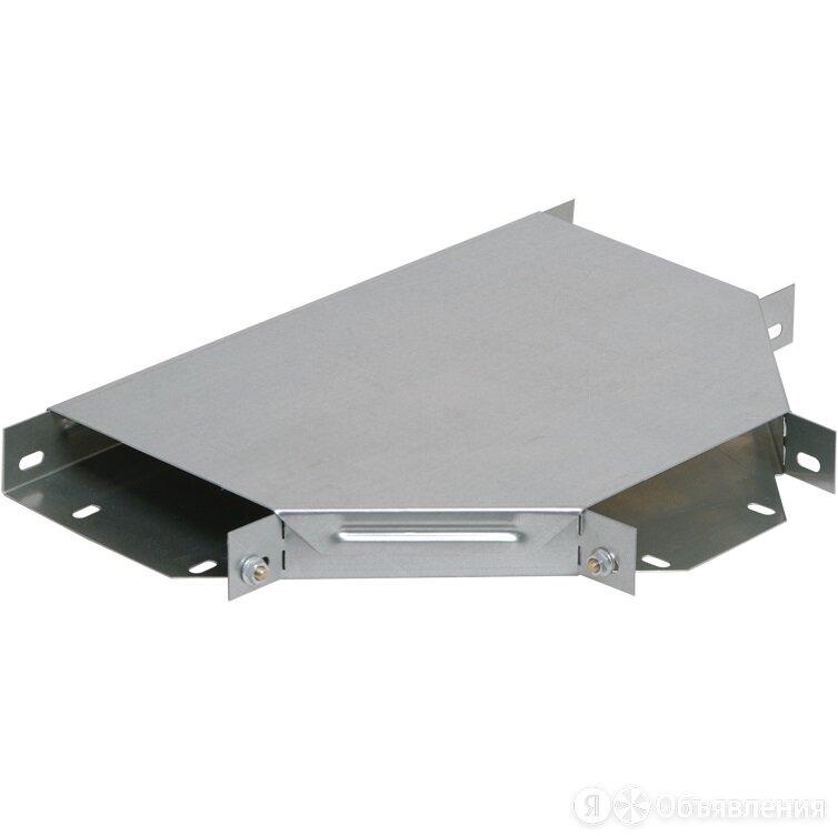 Разветвитель Т-образный для лотка оцинкованный IEK, 0.8 мм, 50x150 мм по цене 1204₽ - Товары для электромонтажа, фото 0