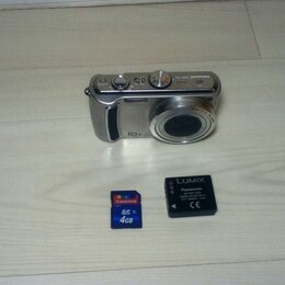 Фотоаппараты - Фотоаппарат Panasonic DMC-TZ5 и аксессуары к нему, 0