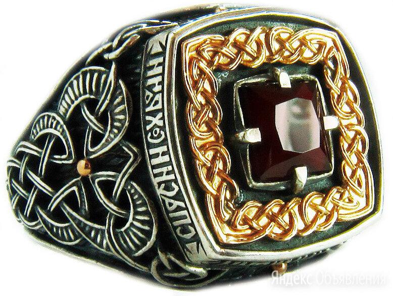 Перстень Persian KSZ036-GRANAT_21 по цене 17770₽ - Кольца и перстни, фото 0