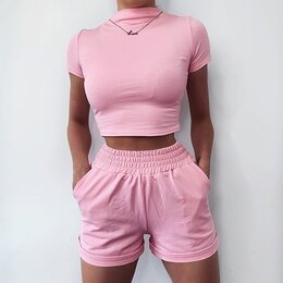 Костюмы - Костюм комплект шорты и футболка, 0