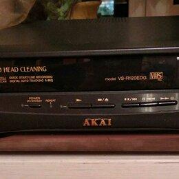 DVD и Blu-ray плееры - Видеомагнитофон akai vs-425edg, 0