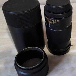 Пленочные фотоаппараты - Фотообъектив Юпитер 37А 3,5/135, 0