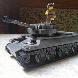 Конструкторы - Танк Т-34 из конструктора Город Игр, 0