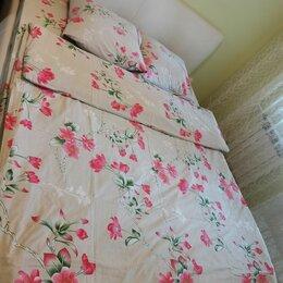 Постельное белье - Комплект постельного белья евро, полотенцы, 0
