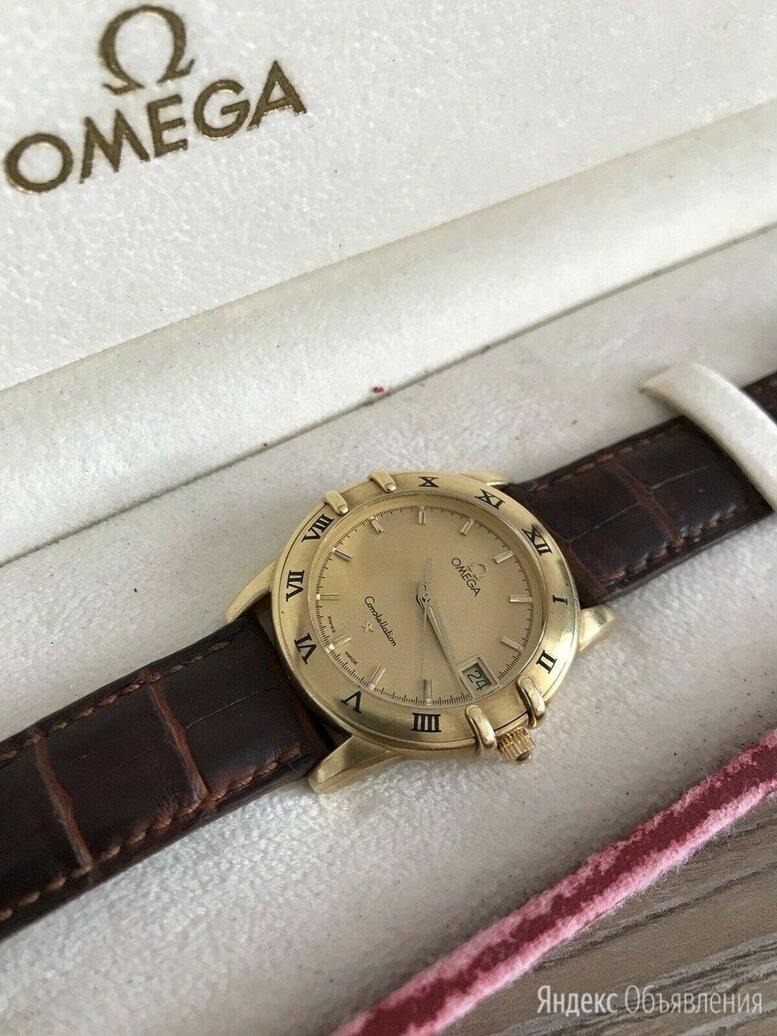 Omega Constellation 36mm Gold Ref: 16121002 по цене 176000₽ - Наручные часы, фото 0