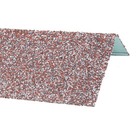 Окна - Наличник оконный металлический HAUBERK Мраморный 50*100*1250мм, 0