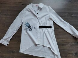 Рубашки и блузы - Блузка Розовый какаду , 0