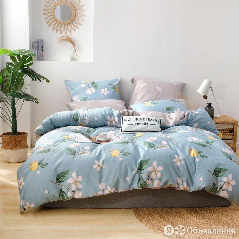 Комплект постельного белья Делюкс Сатин на резинке LR394 по цене 3877₽ - Постельное белье, фото 0